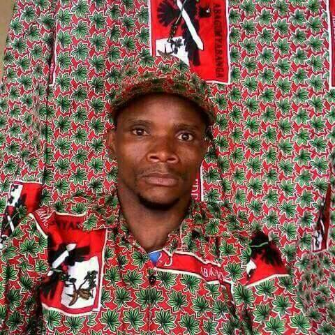 member of the armed militia of the ruling party CNDD-FDD